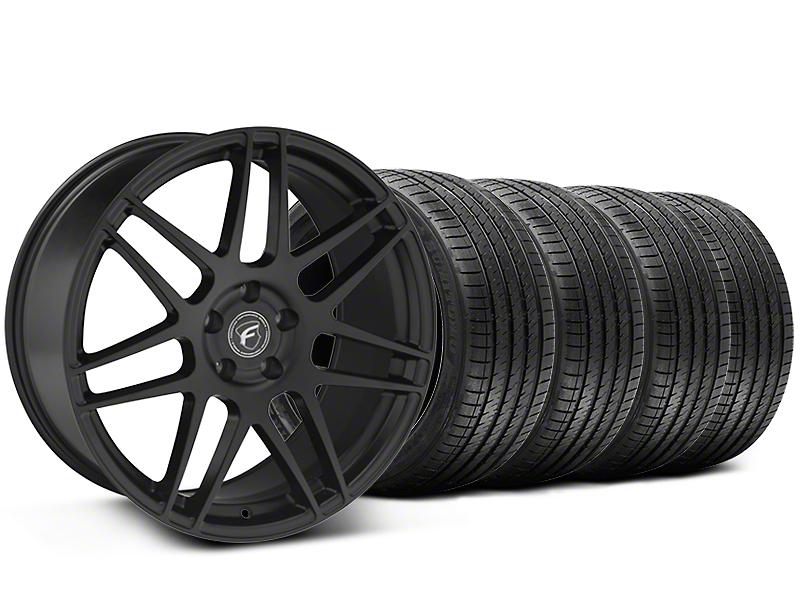 Forgestar F14 Monoblock Matte Black Wheel & Sumitomo Tire Kit - 20x9 (05-14 All)