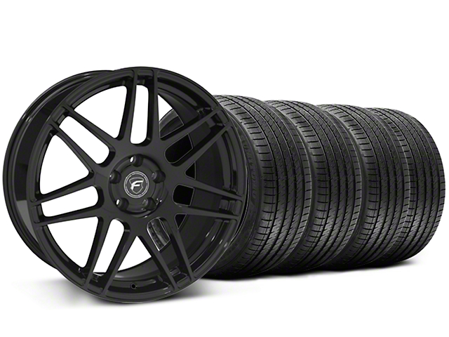Forgestar F14 Monoblock Piano Black Wheel & Sumitomo Tire Kit - 20x9 (05-14 All)