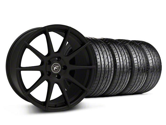 Forgestar CF10 Monoblock Textured Black Wheel & Sumitomo Tire Kit - 19x9 (05-14 All)