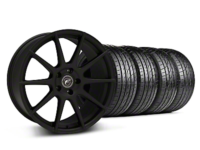 Textured Black Forgestar CF10 Monoblock Wheel & Sumitomo Tire Kit - 19x9 (05-14 All)