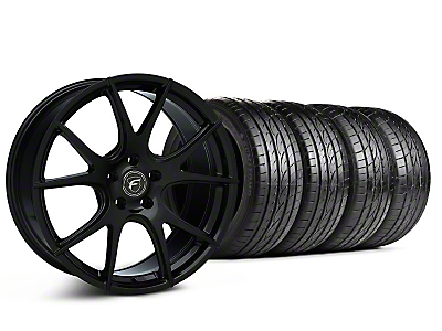 Piano Black Forgestar CF5V Monoblock Wheel & Sumitomo Tire Kit - 19x9 (05-14 All)