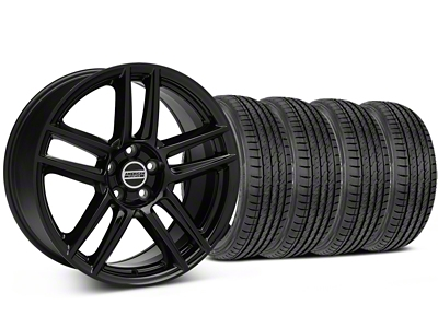 Laguna Seca Style Black Wheel & Sumitomo Tire Kit - 19x9 (05-14 All)