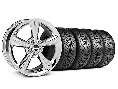 Staggered 2010 OE Chrome Wheel & Sumitomo Tire Kit - 18x8/10 (05-14)