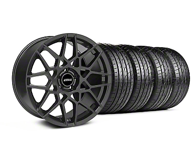 Staggered 2013 GT500 Charcoal Wheel & Sumitomo Tire Kit - 19x8.5/10 (05-14 GT, V6)