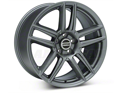 Staggered Boss Laguna Seca Charcoal Wheel & General Tire Kit - 19x9/10 (05-14 All)