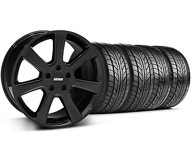 Saleen Style Black Wheel & Sumitomo Tire Kit - 17x9 (94-98 All)