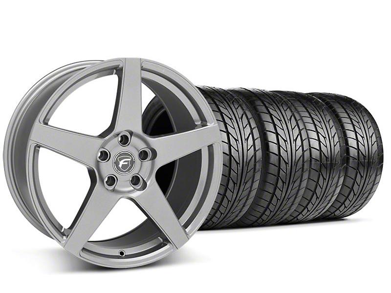 Forgestar CF5 Monoblock Gunmetal Wheel & NITTO Tire Kit - 18x9 (94-98)