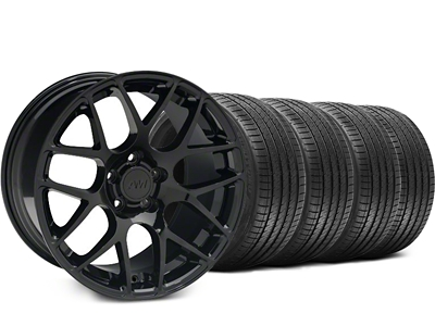AMR Black Wheel & Sumitomo Tire Kit - 18x8 (99-04 All)