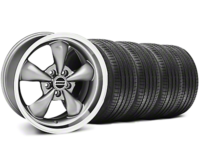 Deep Dish Bullitt Anthracite Wheel & Sumitomo Tire Kit - 18x9 (94-98)
