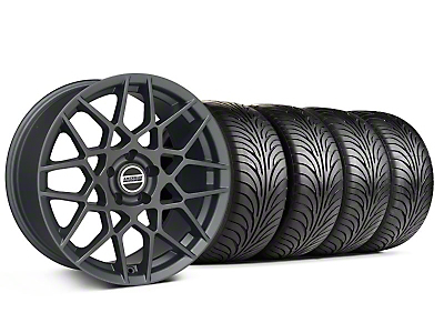 2013 GT500 Charcoal Wheel & Sumitomo Tire Kit - 18x9 (94-98 All)