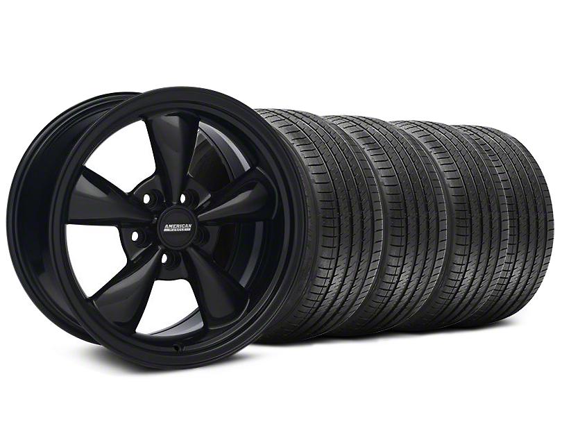 Bullit Solid Black Wheel & Sumitomo Tire Kit - 18x9 (94-98 All)