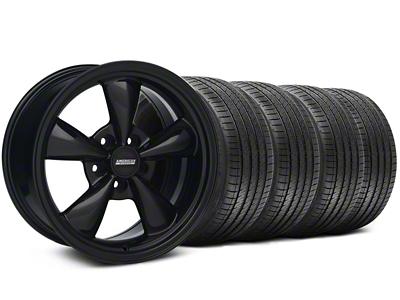 Bullitt Solid Black Wheel & Sumitomo Tire Kit - 18x9 (99-04 All)