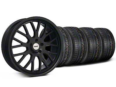 TSW Tremblant Matte Black Wheel & NITTO INVO Tire Kit - 19x8.5 (05-13)