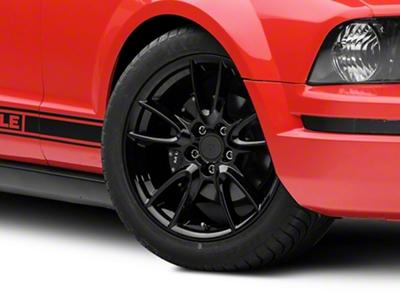 Track Pack Style Gloss Black Wheel - 18x9 (05-14 GT, V6)