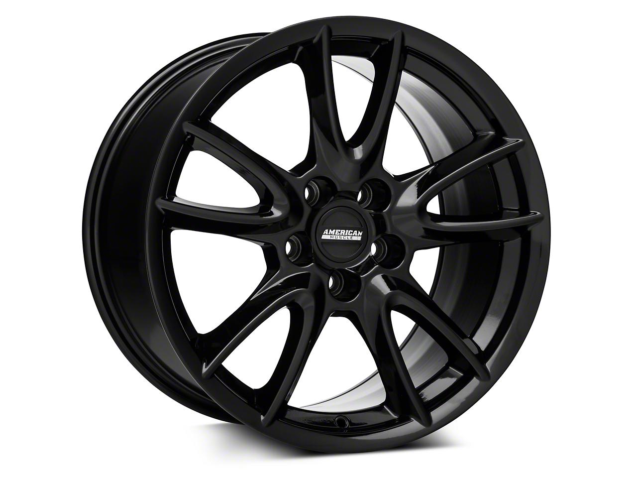 Track Pack Style Gloss Black Wheel - 18x10 (05-14 GT, V6)