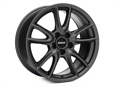 Track Pack Style Gloss Charcoal Wheel - 18x9 (05-14 GT, V6)