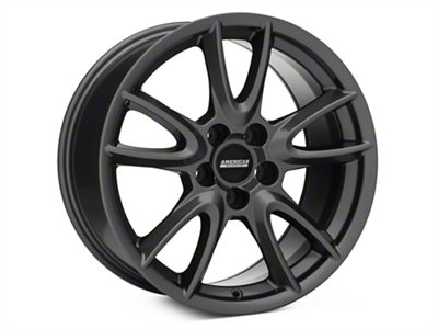 Track Pack Style Gloss Charcoal Wheel - 18x9 (94-04 All)