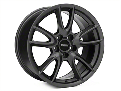 Track Pack Style Gloss Charcoal Wheel - 18x10 (05-14 GT, V6)