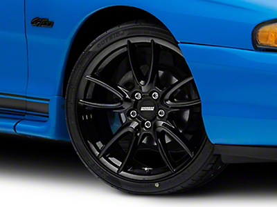 Track Pack Style Gloss Black Wheel - 19x8.5 (94-04 All)