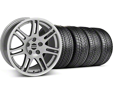 Staggered 10th Anniversary Cobra Anthracite Wheel & Sumitomo Tire Kit - 17x9/10.5 (99-04 All)