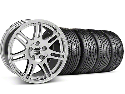 Staggered 10th Anniversary Cobra Chrome Wheel & Sumitomo Tire Kit - 17x9/10.5 (99-04 All)