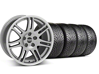 Staggered 10th Anniversary Cobra Anthracite Wheel & Sumitomo Tire Kit - 18x9/10 (99-04 All)