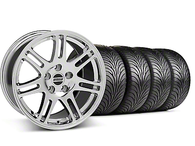 Staggered 10th Anniversary Cobra Chrome Wheel & Sumitomo Tire Kit - 18x9/10 (99-04 All)
