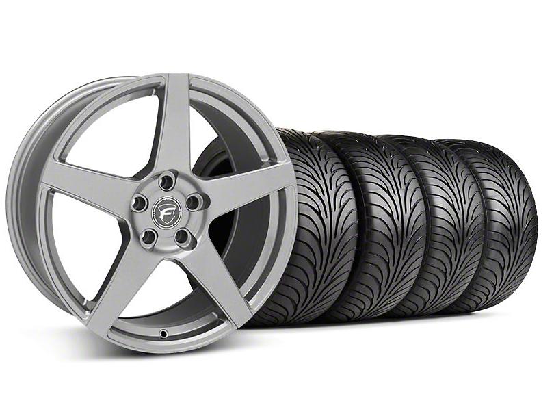 Forgestar Staggered CF5 Monoblock Gunmetal Wheel & Sumitomo Tire Kit - 18x9/10 (99-04 All)