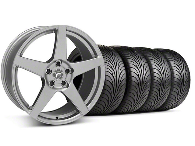 Staggered Forgestar CF5 Monoblock Gunmetal Wheel & Sumitomo Tire Kit - 18x9/10 (99-04 All)