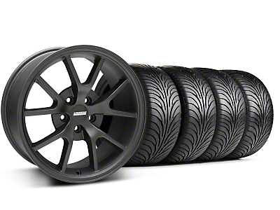 Staggered FR500 Matte Black Wheel & Sumitomo Tire Kit - 18x9/10 (99-04 All)
