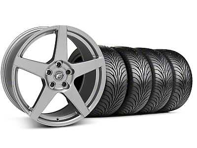 Staggered Forgestar CF5 Monoblock Gunmetal Wheel & Sumitomo Tire Kit - 18x9/10 (94-98 All)