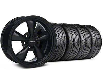 Staggered Bullitt All Black Wheel & Sumitomo Tire Kit - 17x9/10.5 (99-04 All)