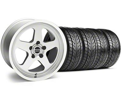 SC Style Silver Wheel & NITTO Tire Kit - 17x9 (94-98 All)