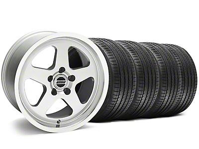 SC Style Silver Wheel & Sumitomo Tire Kit - 17x9 (94-98 All)