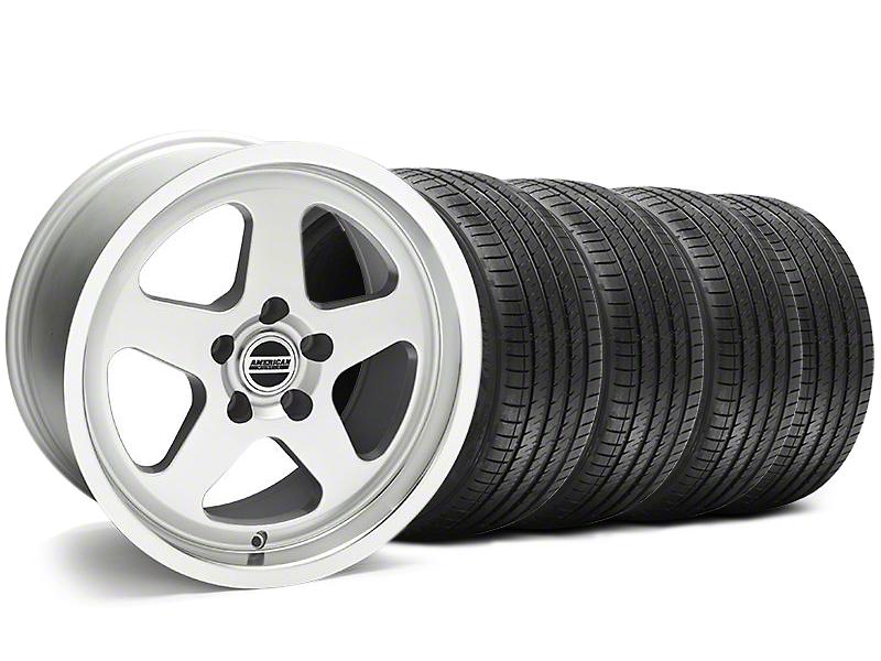 SC Style Silver Wheel & Sumitomo Tire Kit - 17x9 (94-98 All)
