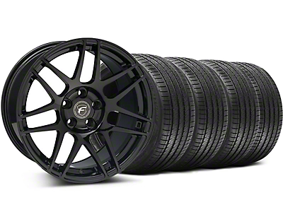 Forgestar F14 Monoblock Piano Black Forgestar F14 Monoblock Wheel & Sumitomo Tire Kit - 18x9 (94-98 All)