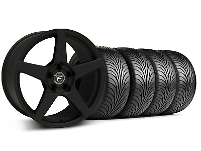 Forgestar CF5 Monoblock Textured Black Wheel & Sumitomo Tire Kit - 18x9 (94-98 All)