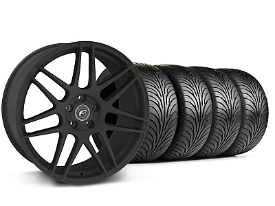 Forgestar F14 Monoblock Textured Black Wheel & Sumitomo Tire Kit - 18x9 (94-98 All)
