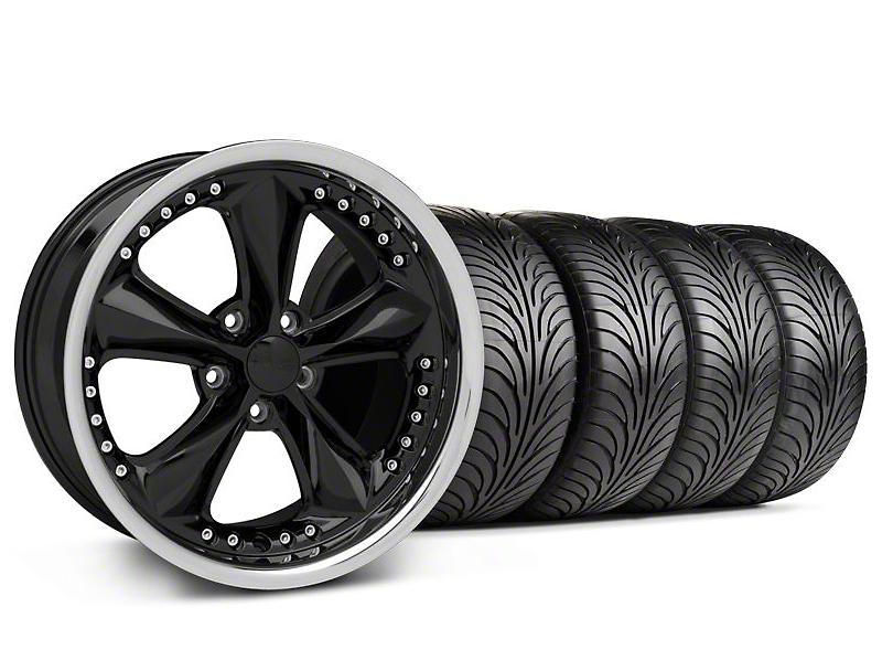 Foose Nitrous Black Wheel & Sumitomo Tire Kit - 18x9 (94-98 All)