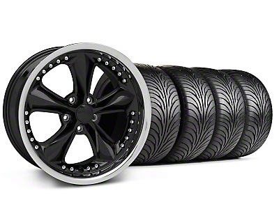 Foose Nitrous Black Wheel & Sumitomo Tire Kit - 18x9 (94-98 All)