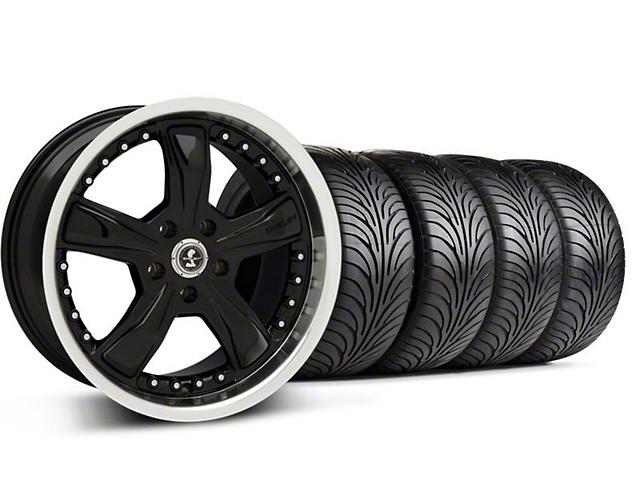 Shelby Razor Black Wheel & Sumitomo Tire Kit - 18x9 (94-98 All)