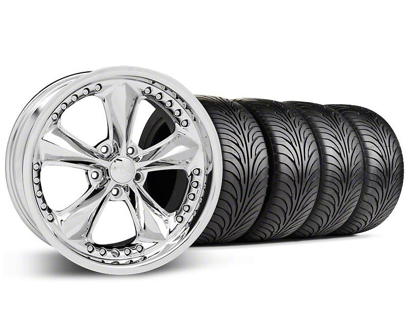 Foose Nitrous Chrome Wheel & Sumitomo Tire Kit - 18x9 (94-98 All)