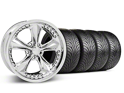 Foose Nitrous Chrome Wheel & Sumitomo Tire Kit - 18x9 (94-98 All)