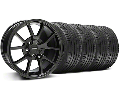FR500 Style Gloss Black Wheel & Sumitomo Tire Kit - 18x9 (94-98 All)