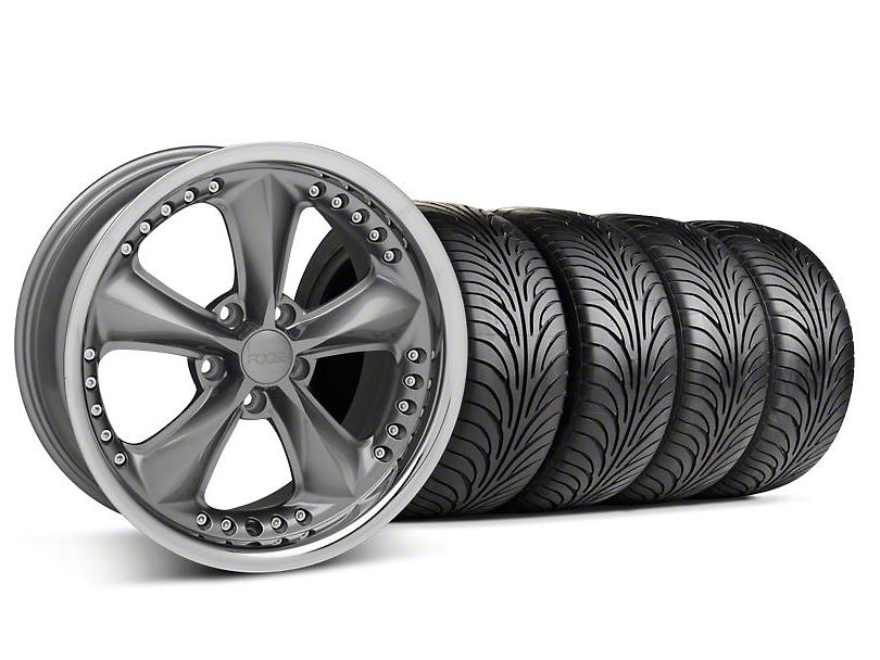 Foose Nitrous Grey Wheel & Sumitomo Tire Kit - 18x9 (94-98 All)