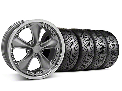 Foose Nitrous Grey Wheel & Sumitomo Tire Kit - 18x9 (94-98 All)