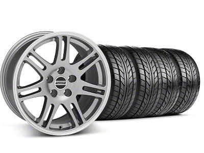 10th Anniversary Cobra Style Anthracite Wheel & NITTO Tire Kit - 18x9 (99-04 All)