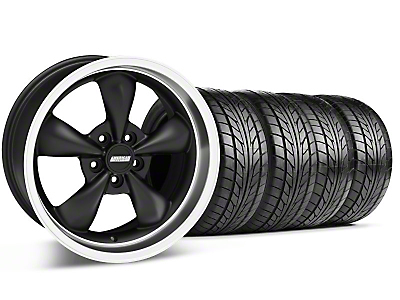 Bullitt Black Wheel & NITTO Tire Kit - 18x9 (99-04 All)