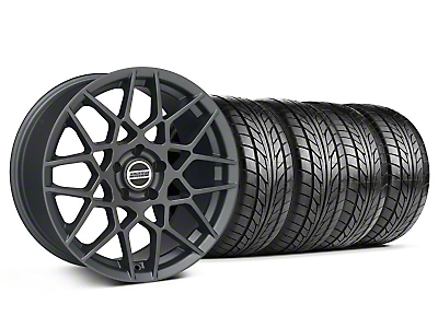 2013 GT500 Style Charcoal Wheel & NITTO Tire Kit - 18x9 (99-04 All)