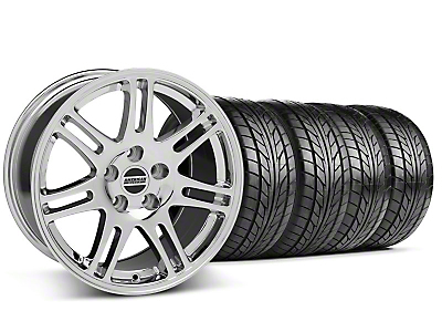 10th Anniversary Cobra Chrome Wheel & NITTO Tire Kit - 18x9 (99-04 All)
